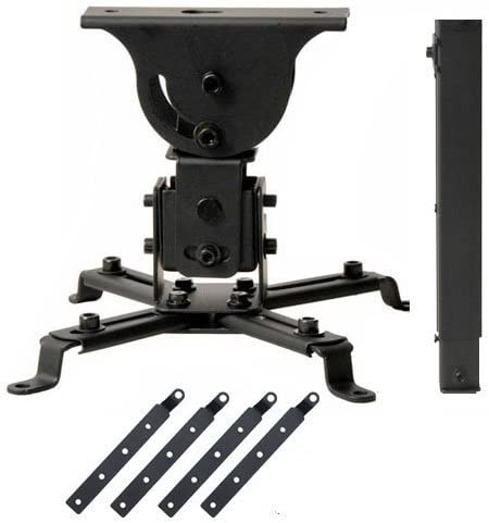 VideoSecu Projector Ceiling Mount with 5.5 inch Pieces Credence 4 Classic Extensi