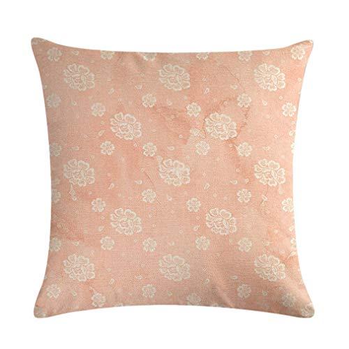 Nunubee Baby Bear Stroller Series Linen Pillow Case for Sofa Couch...