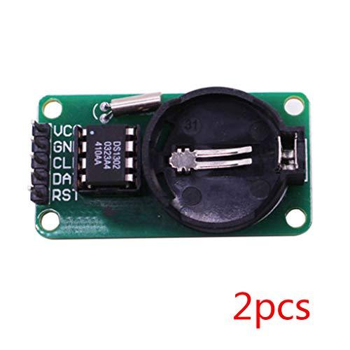 beIilan 2ST / Set High Precision RTC DS1302 Modul Zeitschaltuhr Speicherplatine Beats für Arduino-Modul-Brett