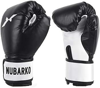 Nubarko Synthetic Leather Kickboxing Gloves