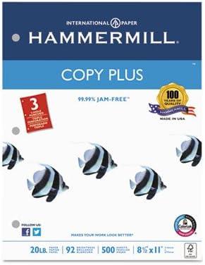 Copy Plus Ranking TOP6 Paper Cheap 3-Hole Punch Ltr Wh 20lb Brightness 92