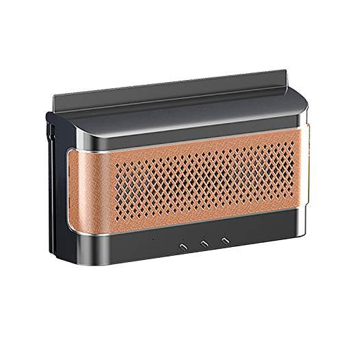 GoolRC Ventilador escape de aire de energía solar para automóvil Ventilador de aire fresco con matanza de mosquitos y función de cargador portátil Mini aire acondicionado Ventilador de aire fresco Uso