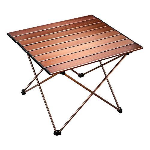 Multifunctionele klaptafel, outdoor ultra licht draagbare tafel, geschikt voor picknick, kamp, strand, boot, handig om te eten koken met brander