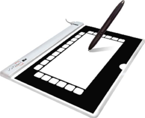 VT Mini 5-Inch Touch Screen Graphic Tablet (White)