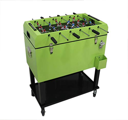 Tischkicker integrierter Kühlbox