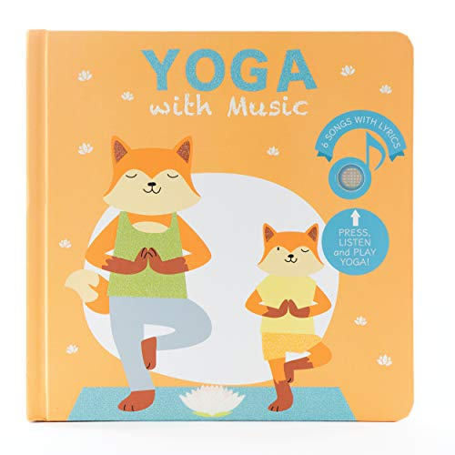 Cali's Books Yoga with Music - Interactive Children's Musical Book with Yoga Poses, Songs and Fun! A Great Yoga Gift Idea for Mom , Babies and Toddlers Ages 2-4. Mom's Choice Award Winner