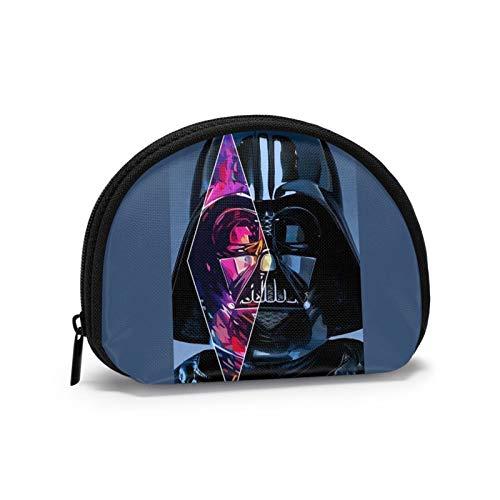 Star Wars Darth Vader HD Mobile Wallpaper Mini Wallet Shell-förmige Aufbewahrung Herren Reißverschluss