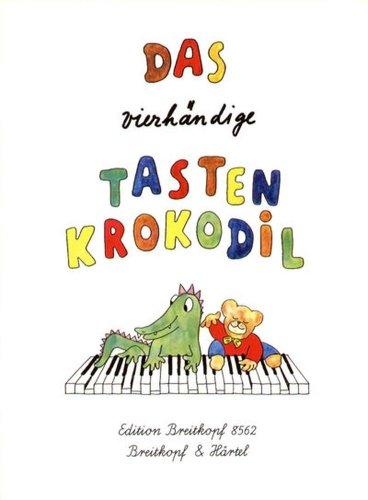 EDITION BREITKOPF DAS VIERHANDIGE TASTENKROKODIL Theorie und Pedagogik Klavier