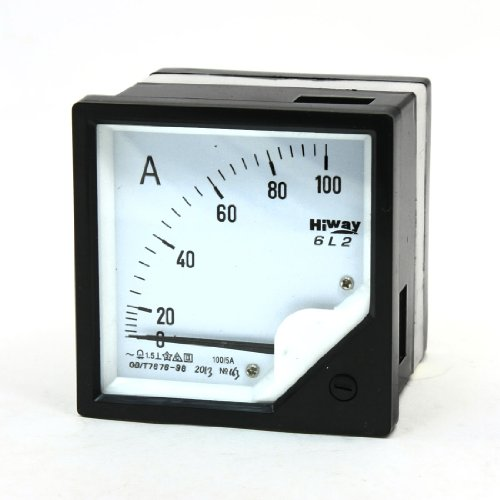 Aexit AC 0-100A Analoges Amperemeter Stromzähler-Messgerät 6L2 (9e094824aa551ef88fddd07db6b63ed9)
