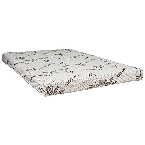 """RV Hide a Bed Memory Foam Mattress Upgrade Gel Infused Cooling top with Bamboo Ticking. (60"""" Hide-a-Bed 48"""" x 71"""" Mattress)"""