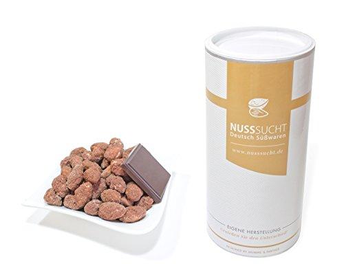 Gebrannte Mandeln mit Kakao Geschmack   Inhalt: 500g   ohne Zusatz- und Konservierungsstoffe   mit wenig Zucker