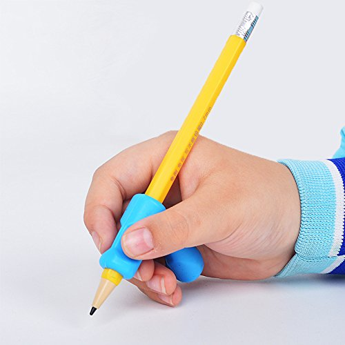 Cimostar Ergonomic Pencil Grip, Writing Grip for Pencils and Utensils, Set of 3