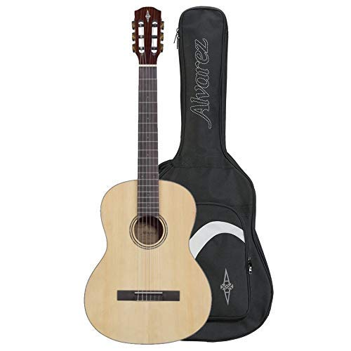 Alvarez RC26 6 String Classical Guitar with Gigbag - Natural Gloss