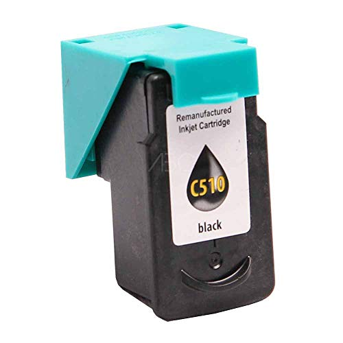 Wiederbefüllte Druckerpatrone für Canon PG 512 Schwarz von ABC
