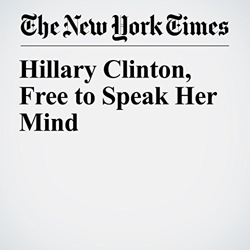 Hillary Clinton, Free to Speak Her Mind copertina