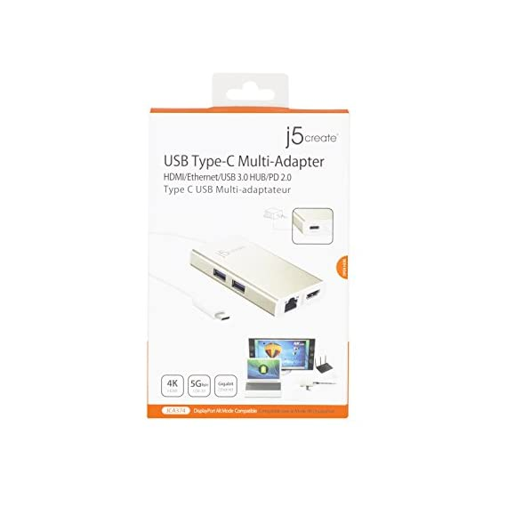 j5create USB C Hub Multi-Adapter Docking Station with HDMI 4K, 2X USB 3.1 SuperSpeed Ports, Ethernet, Power Delivery 2.0 7 The perfect accessory for your MacBook, Chromebook or other laptop with a USB Type-C port. It lets you easily backwards connect your USB Type-C computer to USB 3.0, USB 2.0, HDMI and RJ-45 devices. USB 3.0 SuperSpeed Ports: 2 USB 3.0 SuperSpeed ports, backwards compatible with USB 2.0 and USB 1.1 devices。 Note: Currently not compatible with macOS 11 Big Sur. To avoid any loss of functionality, we strongly advise all Mac users to delay updating to MacOS Big Sur 11 for the time being Get extra connectivity from your computer with 5Gbps fast transfer speeds. Add an additional USB computer peripheral, HDMI Monitor or Gigabit LAN through your USB Type-C port. (note: LAN usage requires download of a free driver)Bullet Point