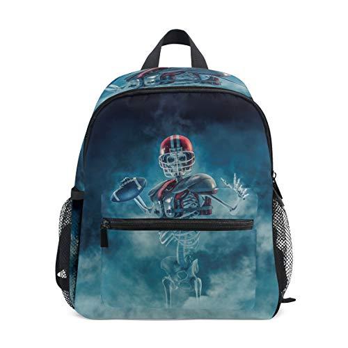 Kinder Rucksack Phantom Football Quarterback Kindergarten Vorschule Tasche für Kleinkind Mädchen Jungen