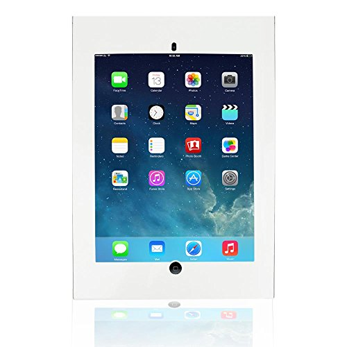 Pyle iPad Pro Tamper Proof Anti-Theft Display Kiosk, Wall Mount Public Security Case Holder (PSPADLKWPRO9)