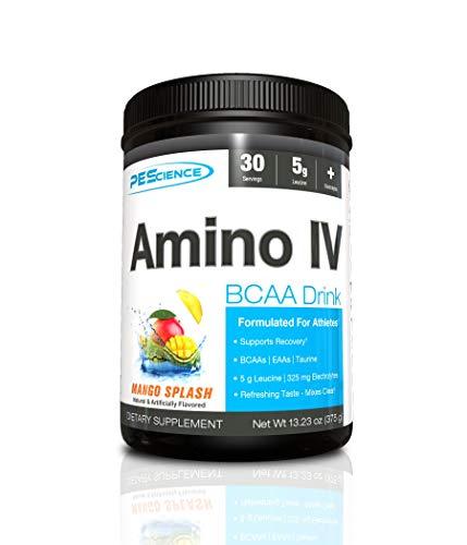 PES Amino IV Pre-Workout Protein Mix, 375 g, Mango