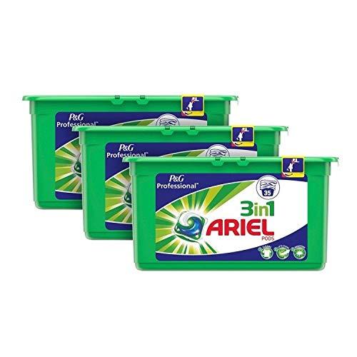 Ariel tvättkapslar, vanlig, en storlek