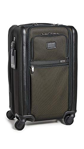 %30 OFF! TUMI - Alpha 3 International Dual Access 4 Wheeled Carry-On Luggage - 22 Inch Rolling Suitc...