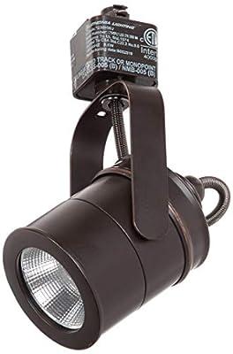LITHONIA LIGHTING LTIHSPLT 27K ORB M4 Spotlight 1 Oil-Rubbed Integrated LED Track Lighting Head, 7.00x4.13x2.50, Bronze