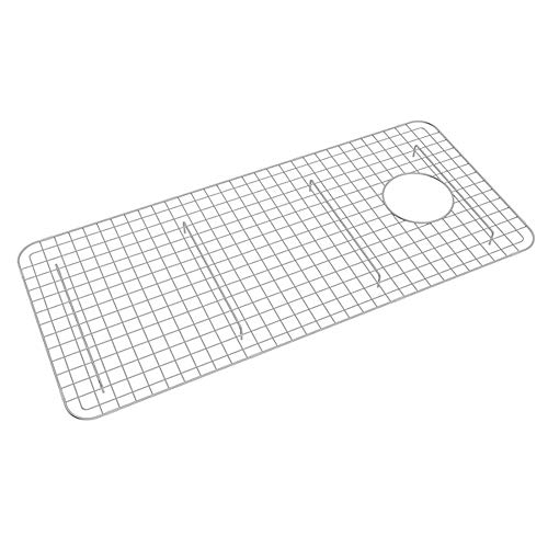 Rohl WSG3618SS 32-5/8-Inch by 14-5/8-Inch Wire Sink Grid for RC3618 Kitchen Sinks in Stainless Steel