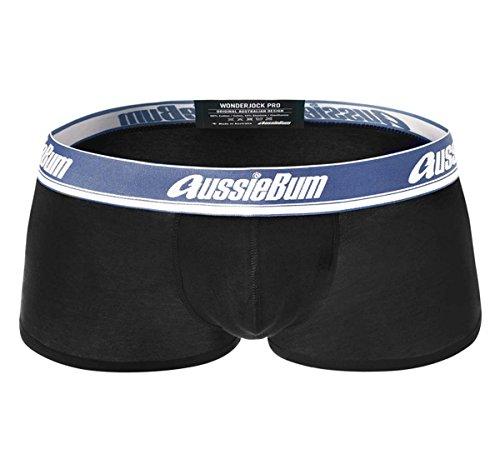 AussieBum Herren Boxershorts WONDERJOCK PRO, schwarz