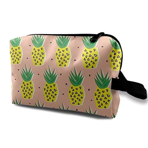 Cute Makeup Bags for Women Travel Toiletry Bag Pineapples Team Travel Storage Bag Cosmetic Bag