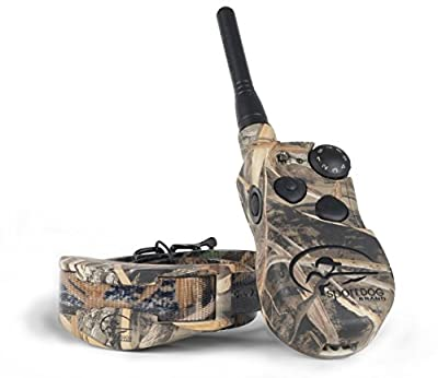 SportDOG Brand WetlandHunter Remote Trainer, Waterproof, Rechargeable Dog Training Collar in Camouflage with Tone, Vibration, and Shock