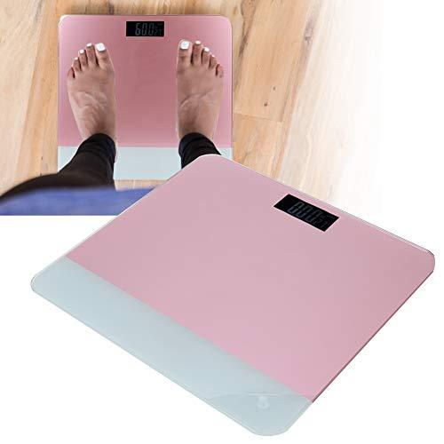 Slimme weegschaal, elektrisch gewicht Badkamer Digitaal lichaamsgewicht Weegschaal LCD-achtergrondverlichting Hoge precisie Meet het gewicht voor lichaamsgewicht Badkamer, woonkamer of kamer.