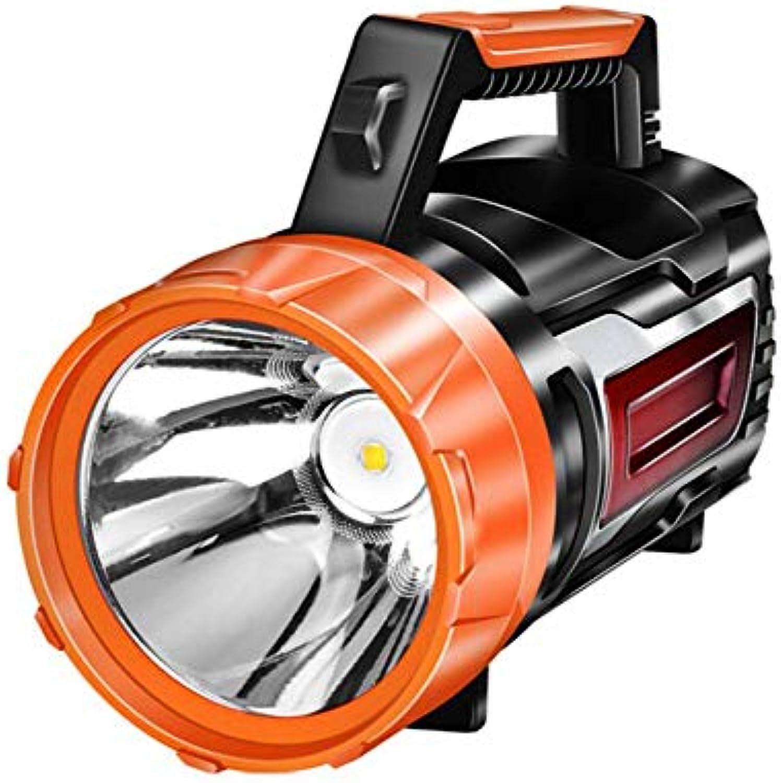 Starke Lichtblitze, Handkurbelkraftwerk, 3500 Lumen High Helligkeit, geeignet für Outdoor-Erkennung, Patrouille, Beleuchtung, Home Emergency,manualupgrade