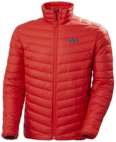 Helly Hansen VERGLAS Down Insulator Jacket Abrigo, 222 ALERT RED, S para...