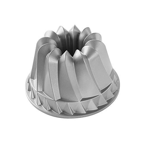Nordicware Backform Gugelhupf, Aluminium, Silber, 22,9 x 22,9 x 10,2 cm