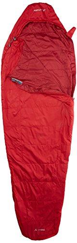 Vaude Sioux 100 Syn Sac de couchage zip à gauche Dark Indian Red