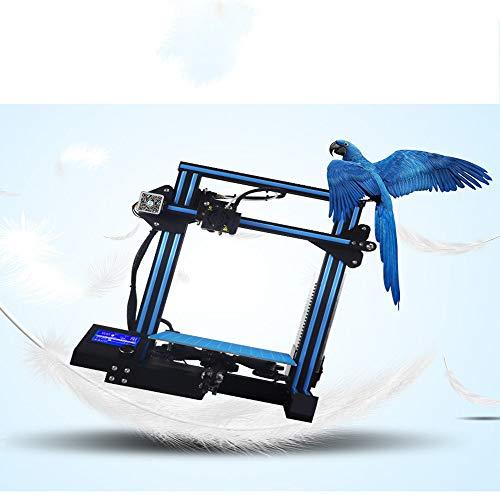 wuwenjun Imprimante 3D Impression à Faible Bruit Récupération Intelligente en Cas de Panne de Courant, modèle Architectural Imprimante 3D Fournitures de Bureau pour étudiants,Blue