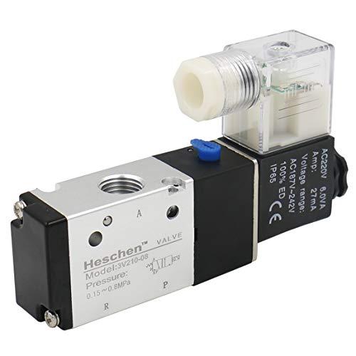 heschen Elektrische Pneumatische Magnetventil 3V210–08220VAC 3,5VA PT1/43/2Wege CE