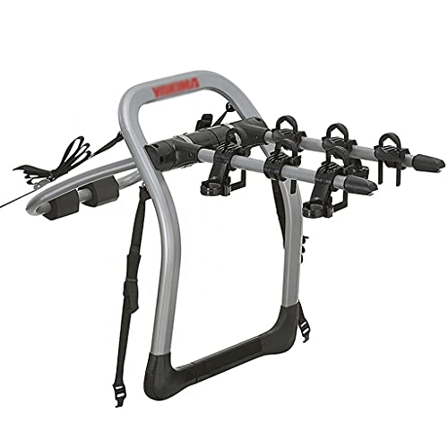 LZL Bike Trunk Mount 3-Bike Car Carrier Rack Universal for Auto-Mobile Bicycle Rack Fits Most Cars Trunk Bike Rack (Color : Three Bicycles)