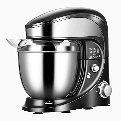 BCXGS Robot de Cocina, Mezcla, Amasadora, Batidora, 500W, 4 L, Sistema de Mezcla planetaria, Amasador, Batidor, Varillas y Protección para Salpicaduras