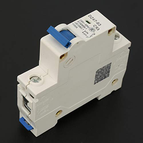 Disyuntor, disyuntor MCB, capacidad de alta segmentación para sistemas de generación de energía pequeña de energía solar(63A)