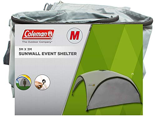 Coleman Event Shelter Sun wall M - 3 x 3m Event Shelter Accessory - Silver