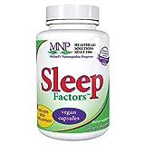 Michael's Naturopathic Programs Sleep Factors - 60 Vegan Capsules - Supports Falling Asleep Naturally, Contains 5-HTP & Melatonin - Vegetarian, Gluten Free, Kosher - 20 Servings