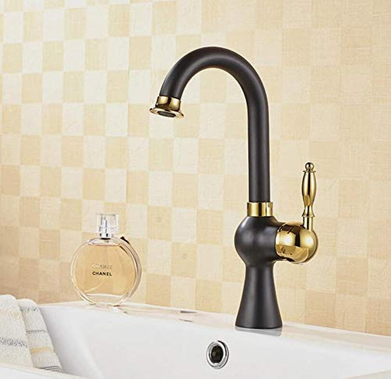 Wasserhahn Waschbecken Wasserhahn-Einhebel-Waschraum-Waschtisch-Mischbatterie Mit Warm- Und Kaltwasserhhnen