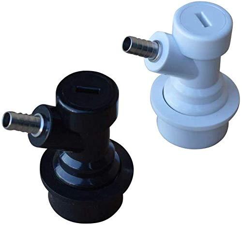 Namvo Un par de cerraduras de bola Corny Keg separadas + 2 barras de conector para barril de cerveza, para Cornelius Kegs