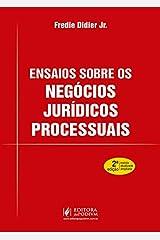 Ensaios Sobre os Negócios Jurídicos Processuais Capa comum