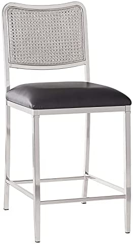 Hillsdale Furniture Deming Metal Counter Popular product Charlotte Mall Height Shiny Stool N in