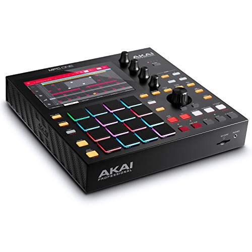 Akai Professional MPC One – Drum Machine, Sampler & MIDI Controller with Beat Pads, Synth Engines, Standalone Operation and Touch Display