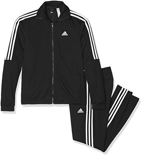 adidas Herren Tiro Trainingsanzug, Black/White, 6