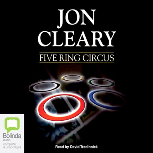 Five Ring Circus audiobook cover art