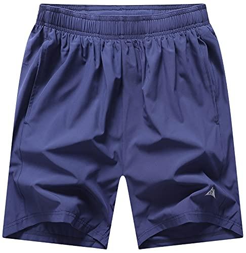 MOERDENG Men's Quick Dry Running Shorts Gym Athletic Workout Shorts for Men